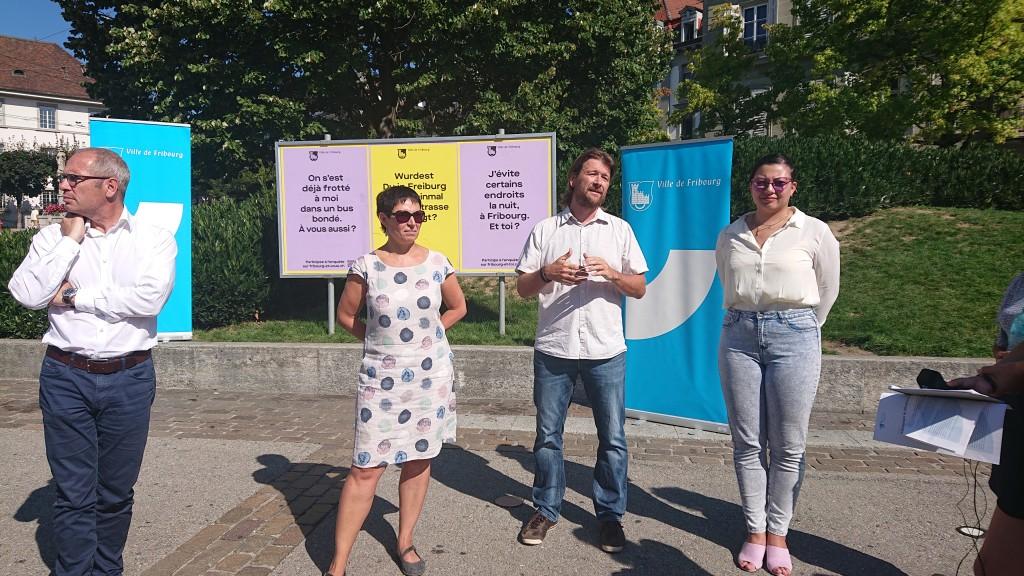 Lancement de la campagne Fribourg et toi